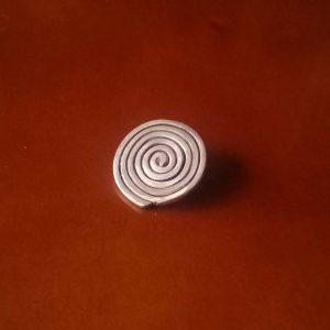 Dije de Plata espiral